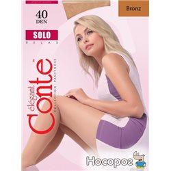 Колготки Conte Solo 40 Den 2 р Bronz -4810226008607