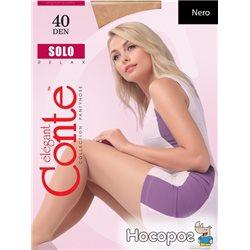 Колготки Conte Solo 40 Den 3 р Nero -4810226008737