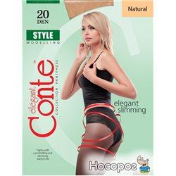 Колготки Conte Style 20 Den 3 р Natural -4811473004268