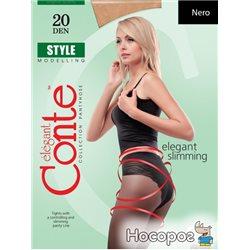 Колготки Conte Style 20 Den 4 р Nero -4811473004329