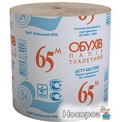 Туалетная бумага Обухов 65 1 слой 8 рулонов (4820003830017)
