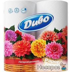 Бумажные полотенца Диво 2 слоя 2 рулона (4820003831885)