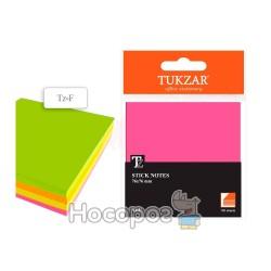 Бумага для заметок с липким слоем TZ-F 4 цвета