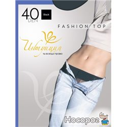 Колготки Intuicia Fashion Top 40 Den 4 р Black (4820023713062)