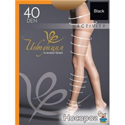 Колготки Intuicia Activity 40 Den 5-6 р Black (4820023717985)