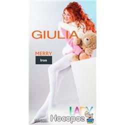 Колготки Giulia Merry 250 Den 128-134 р Iron (4820040136356)