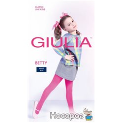 Колготки Giulia Betty 80 80 Den 128-134 см Bright Blue (4820040232157)