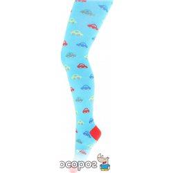 Колготки Giulia D017 Kids 120 Den 104-110 см Blue (4820040309682)