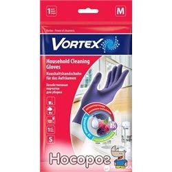 Перчатки Vortex хозяйственные с провитамином B5 и ароматом лесных ягод M (4820048488242)