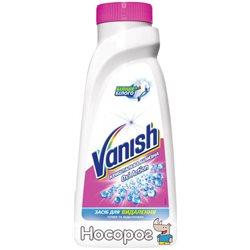 Пятновыводитель и отбеливатель жидкий для тканей Vanish Oxi Action Кристальная белизна 450 мл (5900627027501_4820108002845)