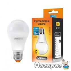 Светодиодная лампа VIDEX E-series A60e 12W E27 3000K 220V (VL-A60e-12273)