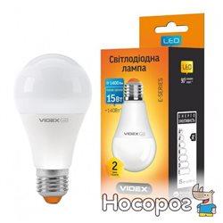 Светодиодная лампа VIDEX E-series A65e 15W E27 3000K 220V (VL-A65e-15273)