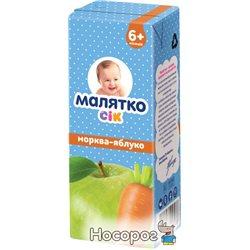 Сок Малятко Морковь-Яблоко 200 мл (4820123511131)