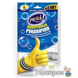Перчатки хозяйственные PrOK универсальные L (4820159841561)