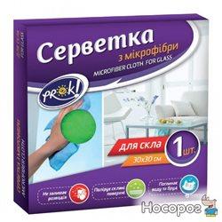 Салфетка для стекла PrOK из микрофибры NEW 1 шт (4820159845910)