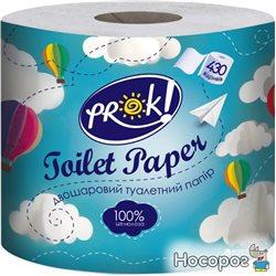 Туалетная бумага PrOK двухслойная 430 отрывов (4820159849475)