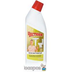 Средство по уходу за унитазами Чистюня Лимон 1 л (4820168430268)