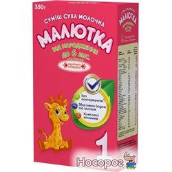 Молочная сухая смесь Малютка-1 Начальная 0-6 месяцев 350 г (4820191210363_4820199500053)