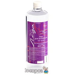 Лак для волос Supermash Леда Style с провитамином В5 экстрасильной фиксации 1 л (4823001601917)