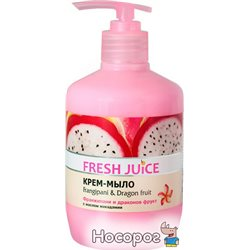 Крем-мыло Fresh Juice Frangipani&Dragon fruit 460 мл (4823015923326)