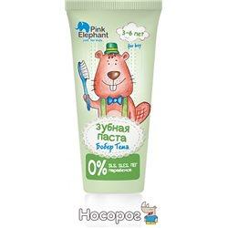 Зубная паста Pink Elephant Бобер Тема 50 мл (4823015937026)