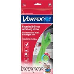Перчатки Vortex хозяйственные с удлиненными манжетами M (4823071620153)