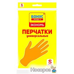 Перчатки Бонус Эконом универсальные S (4823071628142)
