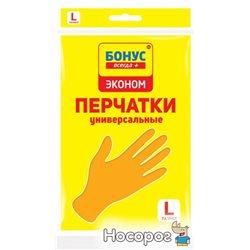 Перчатки Бонус Эконом универсальные L (4823071628227)