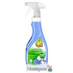 Эко чистящее средство для акриловых поверхностей Фрекен БОК Синий лен 500 мл (4823071628913)