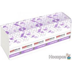Упаковка бумажных полотенец PRO service Comfort Eco двухслойное Z-сложения 200 листов 21 шт (33702300)