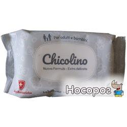 Салфетки влажные Chicolino Антибактериальные для взрослых и детей 60 шт (4823098407126)