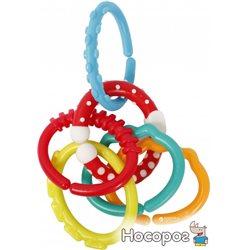 Розвиваюча іграшка Курносики 7121 Ланцюжок 6 деталей (4890210071213)