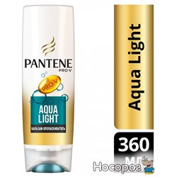 Бальзам-ополаскиватель Pantene Pro-V Aqua Light 360 мл (5013965696596)