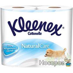 Туалетная бумага Kleenex Natural Care 140 отрывов 3 слоя 4 рулона (5029053541648)