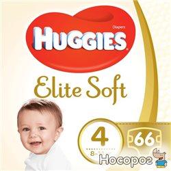 Подгузники Huggies Elite Soft 4 Mega 66 шт. (5029053546339)