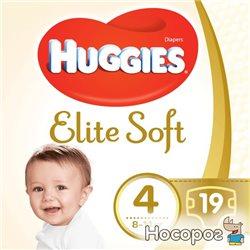 Подгузники Huggies Elite Soft 4 Small 19 шт. (5029053546322)