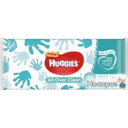 Салфетки влажные Huggies OverClean 56 шт (5029053567822)