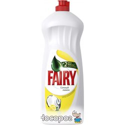 Жидкое средство для мытья посуды Fairy Сочный Лимон 1 л (5413149314092)