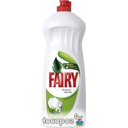Жидкое средство для мытья посуды Fairy Зеленое Яблоко 1 л (5413149314139)