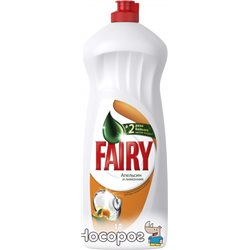 Жидкое средство для мытья посуды Fairy Апельсин и Лимонник 1 л (5413149314191)