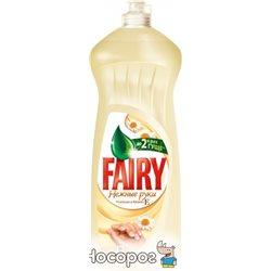 Жидкое средство для мытья посуды Fairy Нежные руки Ромашка и Витамин Е 1 л (5413149477667)