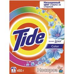 Стиральный порошок Tide Автомат Color + Lenor Touch of Scent 450 г (5413149871311)