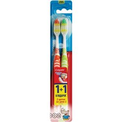 Набор зубных щеток Colgate 1+1 Эксперт чистоты средней жесткости (5900273112521)