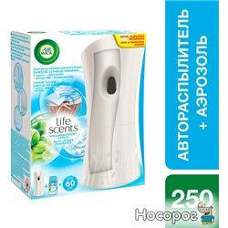 Автоматический освежитель воздуха Air Wick Freshmatic Life Scents Утренняя свежесть 250 мл (5900627044881_4820108002487)