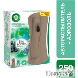 Автоматический освежитель воздуха Air Wick Freshmatic Life Scents Утро в лесу 250 мл (5900627052220_4820108002470_4820108003583)