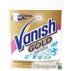 Пятновыводитель и отбеливатель порошкообразный для тканей Vanish Gold Oxi Action Кристальная белизна 30 г (5900627063776)