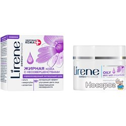 Нормалізує матирующий крем для шкіри обличчя Lirene день / ніч 50 мл (5900717371958)