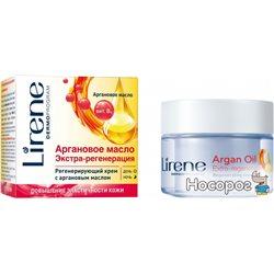 Регенеруючий крем для обличчя Lirene з аргановою олією 50 мл (5900717723917)