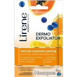Деликатный энзимный пилинг Lirene Masks с фруктовыми кислотами и папайей 8 мл (5900717724617)