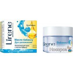 Зволожуючий крем для обличчя Lirene з маслом бабассу 50 мл (5900717724013)
